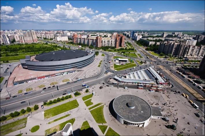 Новые кварталы в районе м. Проспект Большевиков