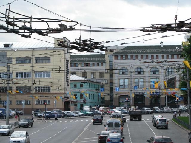 Иваново. Дороги