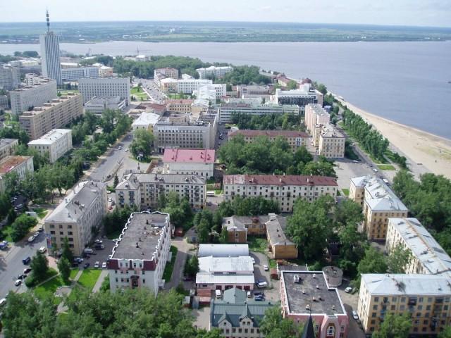 Архангельск с высоты