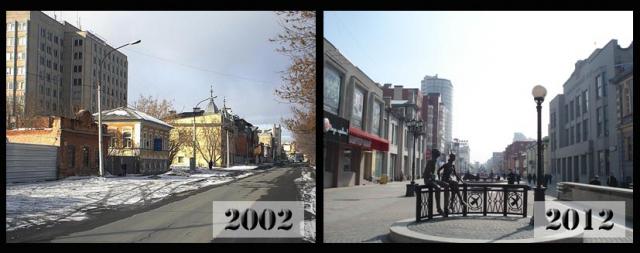 Екатеринбург. Улица Вайнера до и после ремонта
