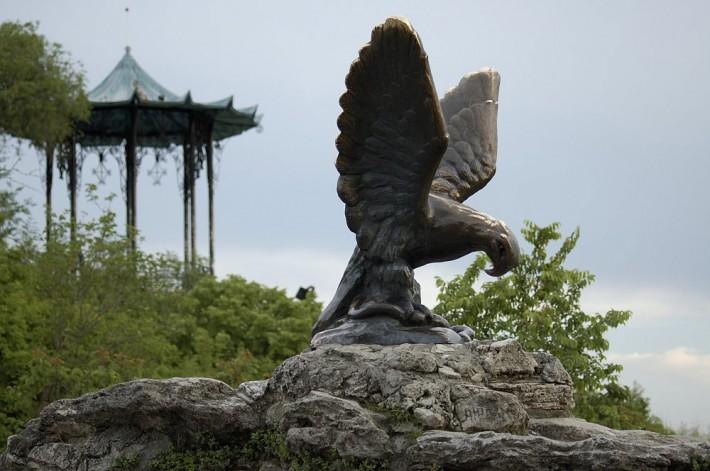 Орел на Горячей горе