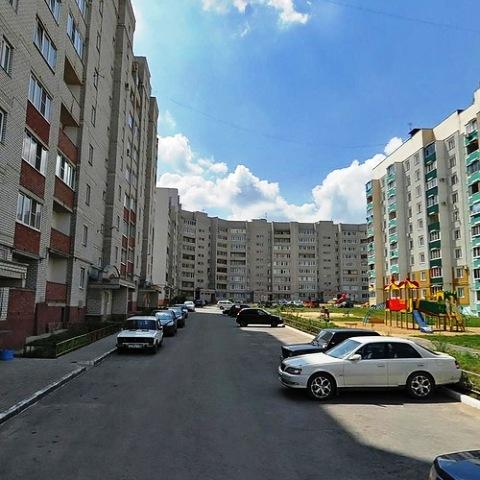 Новые дома по ул.Бородинская (район Сокол)