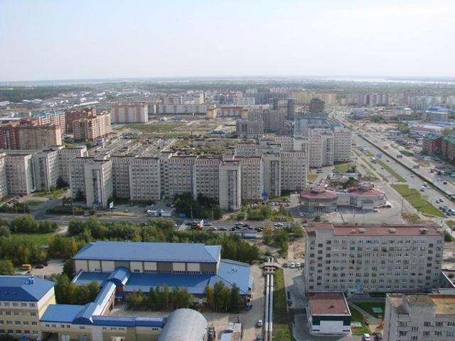 Сургут. Улица Маяковского