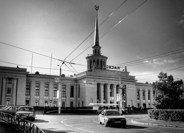 ЖД Вокзал в Петрозаводске