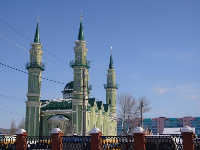 Стерлитамак. Мечеть «Нур-аль-Иман»