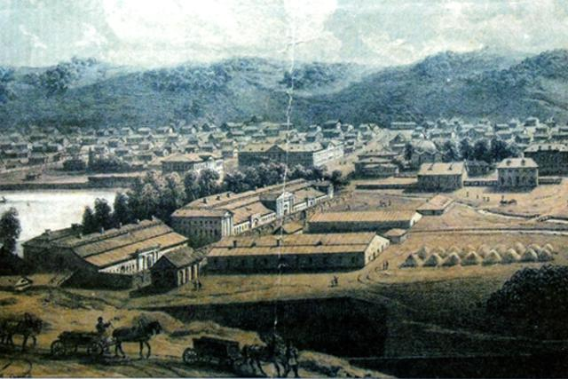 Барнаул. Середина 19 века