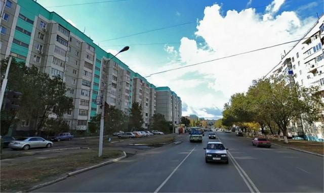 Оренбург. Ленинский район