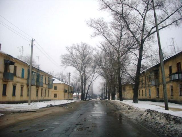 Двухэтажки в районе ЛТЗ
