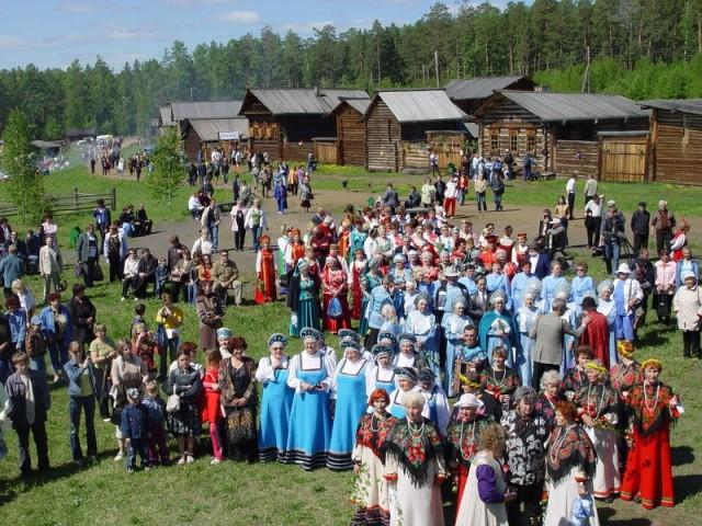 Ангарская деревня