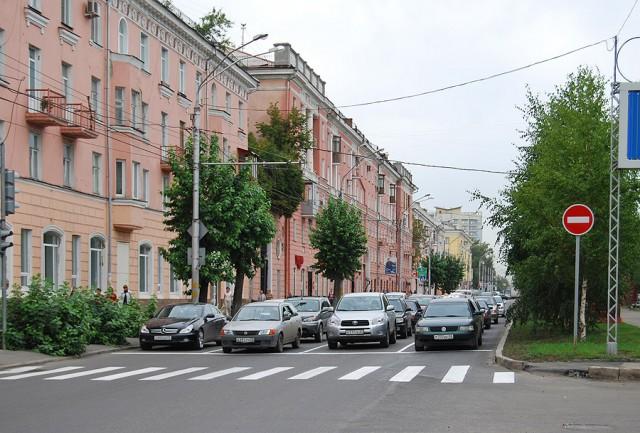 Барнаул. Проспект Ленина стал четырехполосным