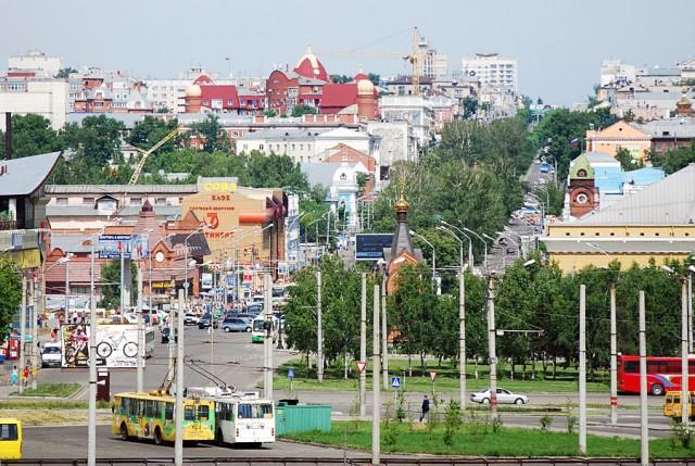 Барнаул. Центр