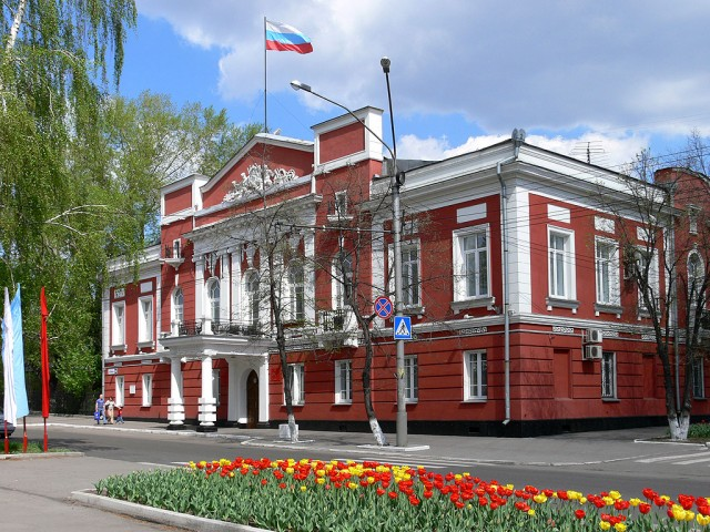 Барнаул. Здание администрации
