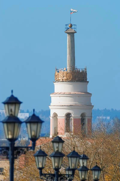 Башня на плотине – самое старое здание Ижевска