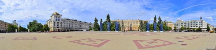 Белгород. Соборная площадь