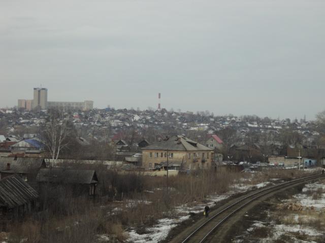 Вид на южную часть района