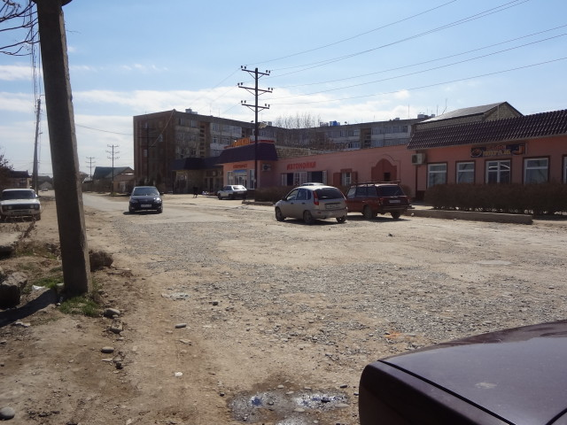 Состояние дорог в районе карьера