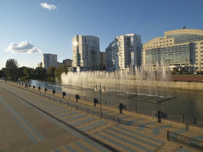 Белгород. Фонтаны