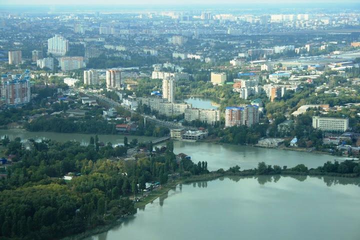 Краснодар. Юго-Восточная часть
