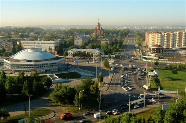 Кемерово. Центр