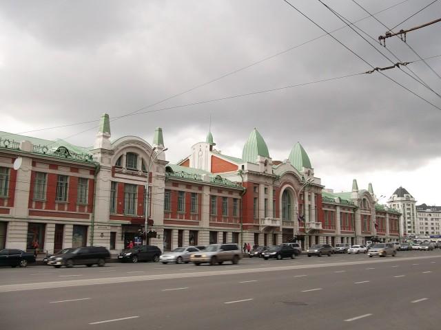 Краеведческий музей в Новосибирске