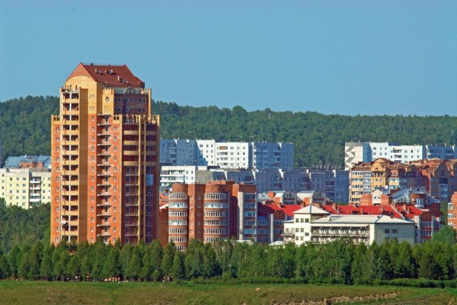 Красноярск. Академгородок