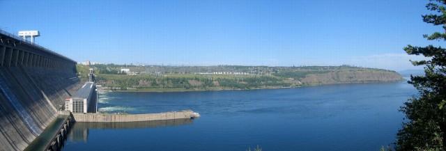 Красноярск. ГЭС
