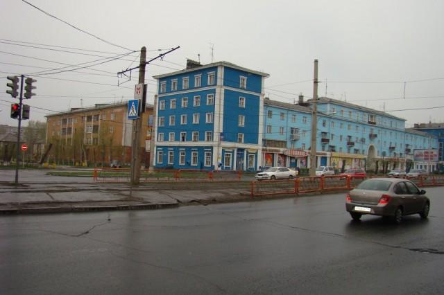 Красноярск. КрасТЭЦ