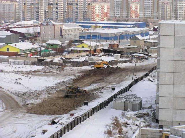 Красноярск. Покровка
