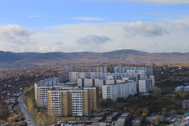 Красноярск. Верхние Черемушки