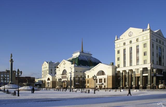 Красноярск. ЖД Вокзал