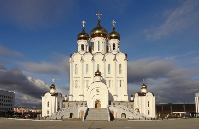 Магадан. Свято-Троицкий Собор