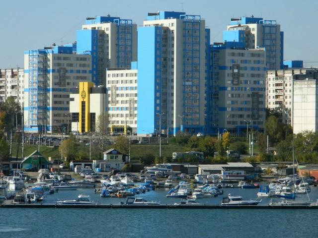 Микрорайон Солнечный в Иркутске