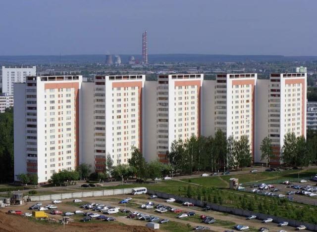 Набережные Челны. Новый город