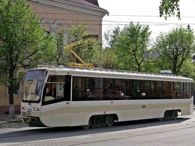Новый трамвай в Ульяновске