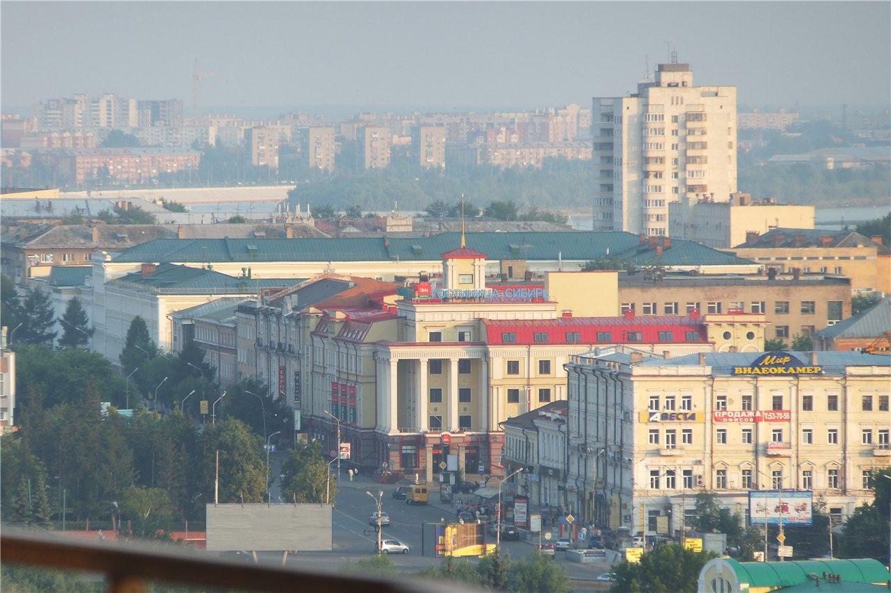 карта города омска с названиями улиц