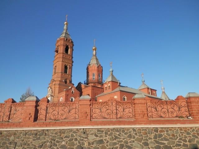 Орск. Спасо-Преображенская церковь