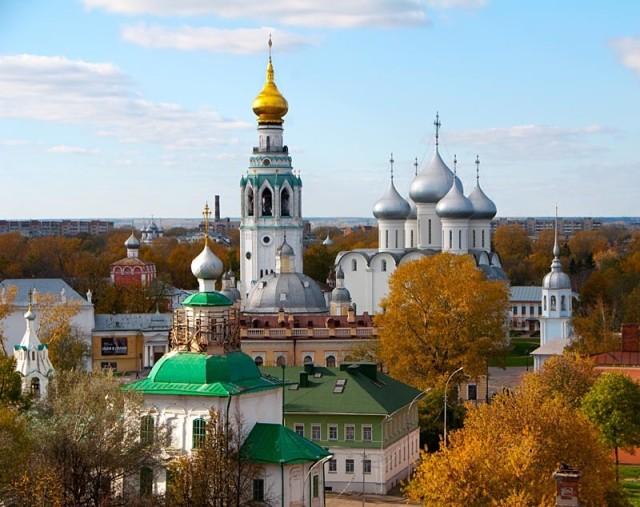 Осенняя Вологда