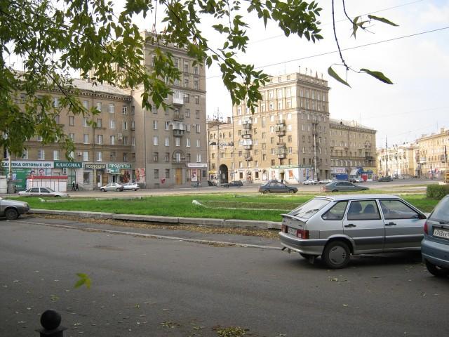 Магнитогорск. Площадь Носова