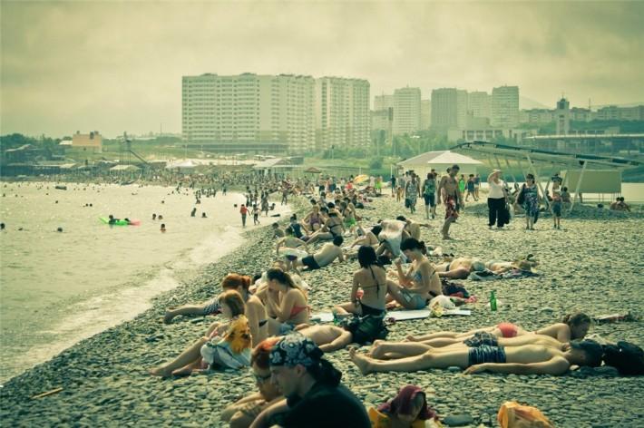 Новороссийский пляж