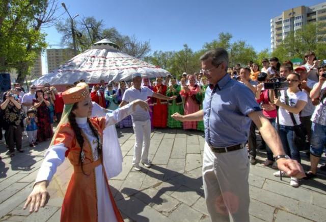 Празднование Навруза в Астрахани