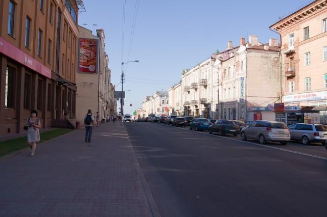 Пробка в Смоленске