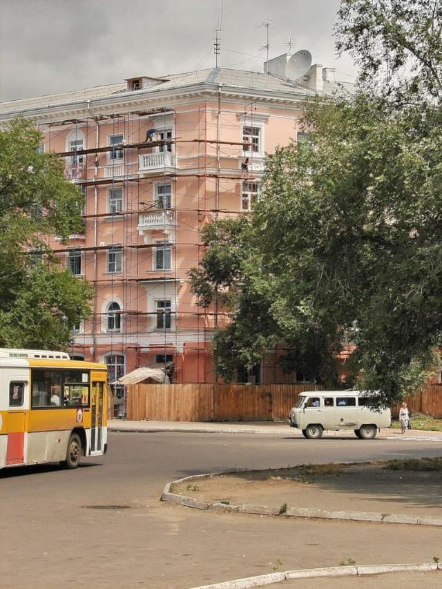 Ремонт дома на площади Ленина