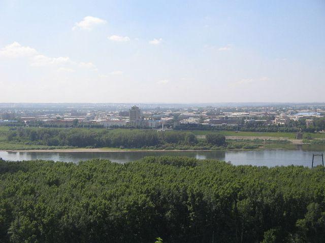 Кемерово. Рудничный район