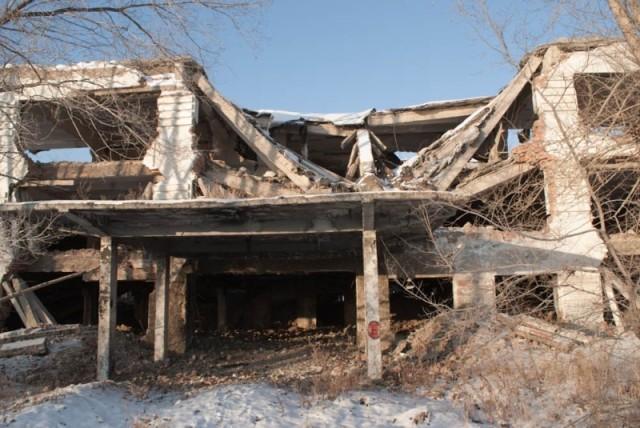 Руины Камвольно-суконного комбината
