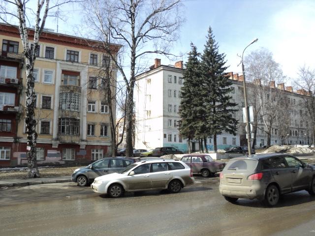 Сталинки по ул. Советская