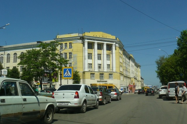 Старый корпус РХТУ им. Менделеева