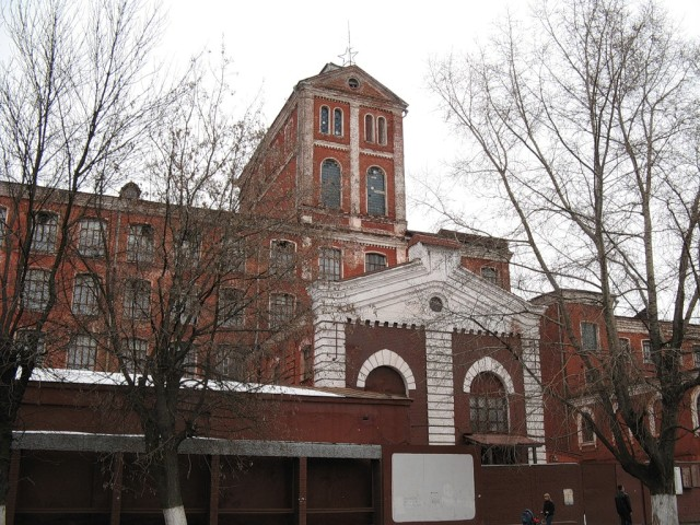 Старый корпус ткацкой фабрики