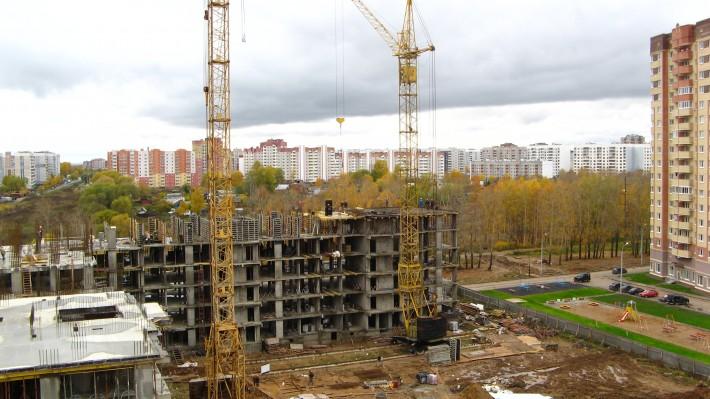 Строительство ЖК Яблоневый пасад в Брагино