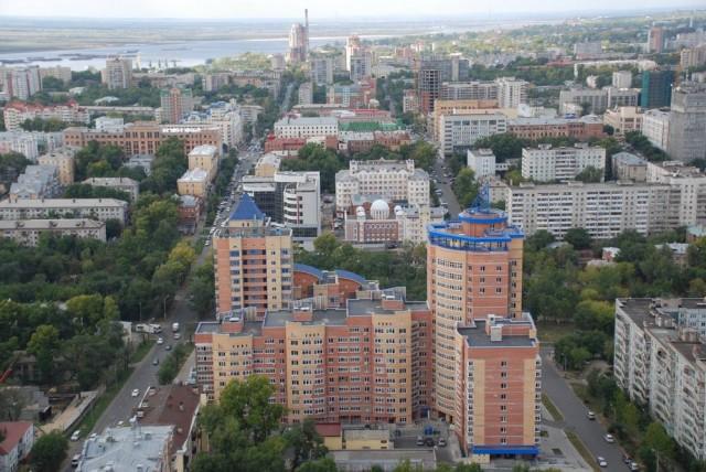 Центр Хабаровска