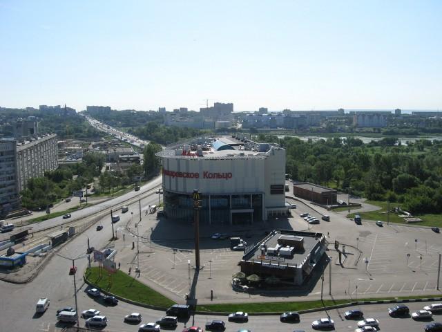 ТЦ Пушкаревское кольцо в Ульяновске